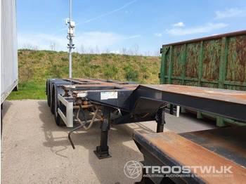 D-TEC FT 43-03V - konteynır taşıyıcı/ yedek karoser dorse