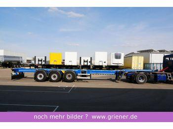 D-TEC FT-LS-S  FLEXITRAILER 20/30/40/45 HC LIFT  - konteynır taşıyıcı/ yedek karoser dorse