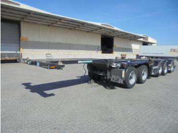 D-Tec CT-60-05D - konteynır taşıyıcı/ yedek karoser dorse