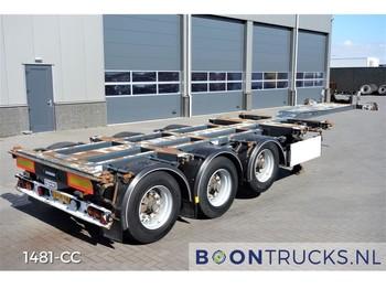 D-Tec FT-43-03V | 20-30-40-45ft HC MULTICHASSIS - konteynır taşıyıcı/ yedek karoser dorse