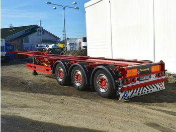 Konteynır taşıyıcı/ yedek karoser dorse KÖGEL SWCT 24 P kontejner