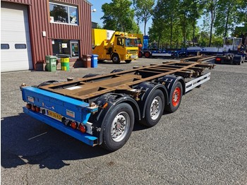 Kögel SW24 3 axle SAF - Discbrakes - Lift axle - 10/2020 APK - konteynır taşıyıcı/ yedek karoser dorse