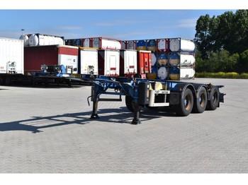 LAG 0-3-39CD - konteynır taşıyıcı/ yedek karoser dorse