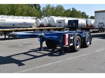 LAG BP0 12-20 CCXAX - konteynır taşıyıcı/ yedek karoser dorse