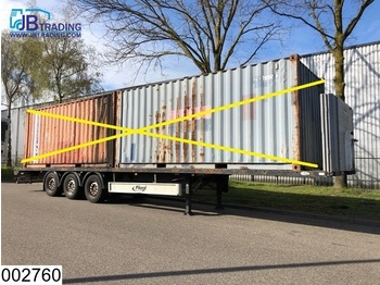 Fliegl open laadbak Twistlocks 20 / 40 FT Containers, Disc brakes - platform dorse