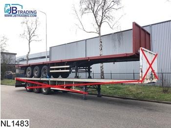 Fruehauf open laadbak Steel suspension - platform dorse