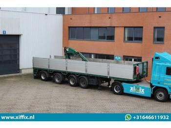 Kennis 4-ass. Steenoplegger met Kennis 14 ton/mtr. Kraan - platform dorse