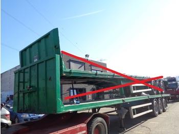 Platform dorse LAG Oplegger 6x heavy chassis