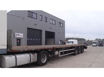 Lecitrailer 3E (ROR - AXLES) - platform dorse