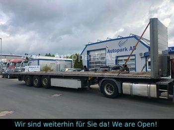 Platform dorse Schmitz Cargobull Plattform Auflieger Verzinkt Staplerhalterung