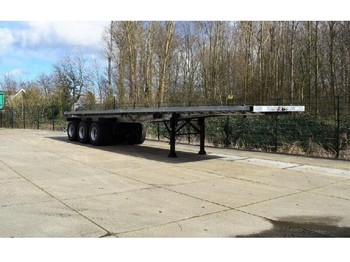 "Platform dorse TMH - 3-50 Flatbed trailer with 20 and 40"" twistlocks"