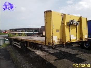 Platform dorse Van Hool Flatbed: fotoğraf 1
