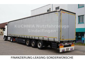 Kögel SN 24 Standard EN 12642 XL Liftachse Palettenkas  - tenteli dorse