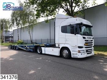 Scania R 490 Truck transport, EURO 6, Retarder, Airco, Standairco, Combi - dragbil