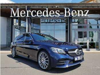 Mercedes-Benz C 300d T 4M+AMG+DISTR+LED+ HEAD+BURM+AIRM+PANO+A  - automobil