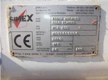 Simex PLB600 - külmhöövel