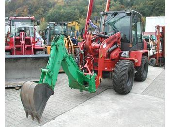 Ahlmann Anbaubagger - ratastel laadur