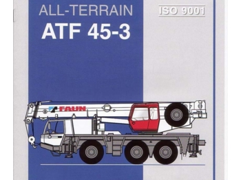 Faun ATF45-3 6x6x6 50t - teisaldatav kraana