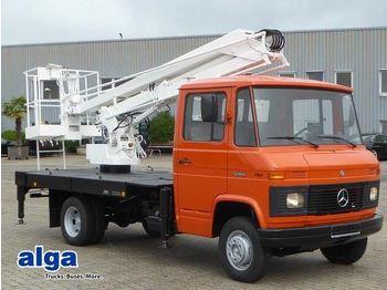 Veoautolt tõusev platvorm Mercedes-Benz 508 4x2 Arbeitsbühne 10 Meter