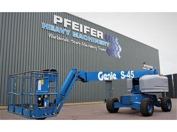 Genie S45/4WD Diesel, 4x4 Drive, Jib, 15.72m Working Hei  - teleskoplift