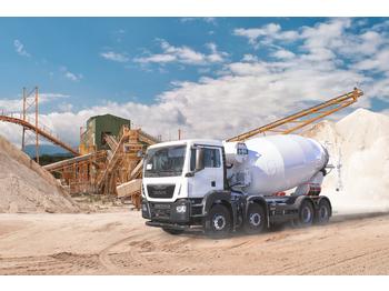 IMER-L&T with MAN 41360 Eu6 8x4 2019 - betonkeverő