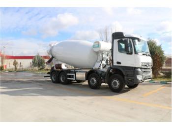 IMER-L&T with MB 4142 B 8x4 Eu6 4142 B Euro 6 - betonkeverő