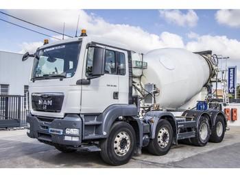 MAN TGS 32.360 BB + BETONMIXER+EURO5 - betonkeverő