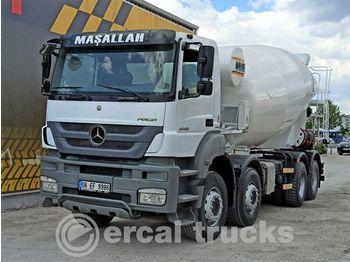 MERCEDES-BENZ 2016 AXOR 4140 AC 8X4 EURO 5 12M3 CONCRETE MIXER - betonkeverő
