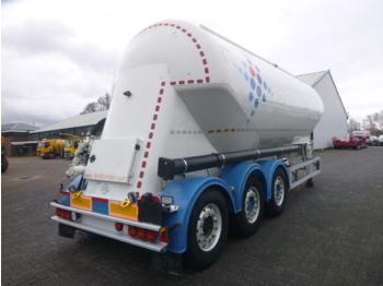 صهريج نصف مقطورة Feldbinder Powder tank alu 36 m3 / 1 comp: صور 4