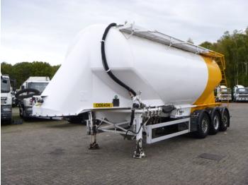 صهريج نصف مقطورة Feldbinder Powder tank alu 36 m3 / 1 comp