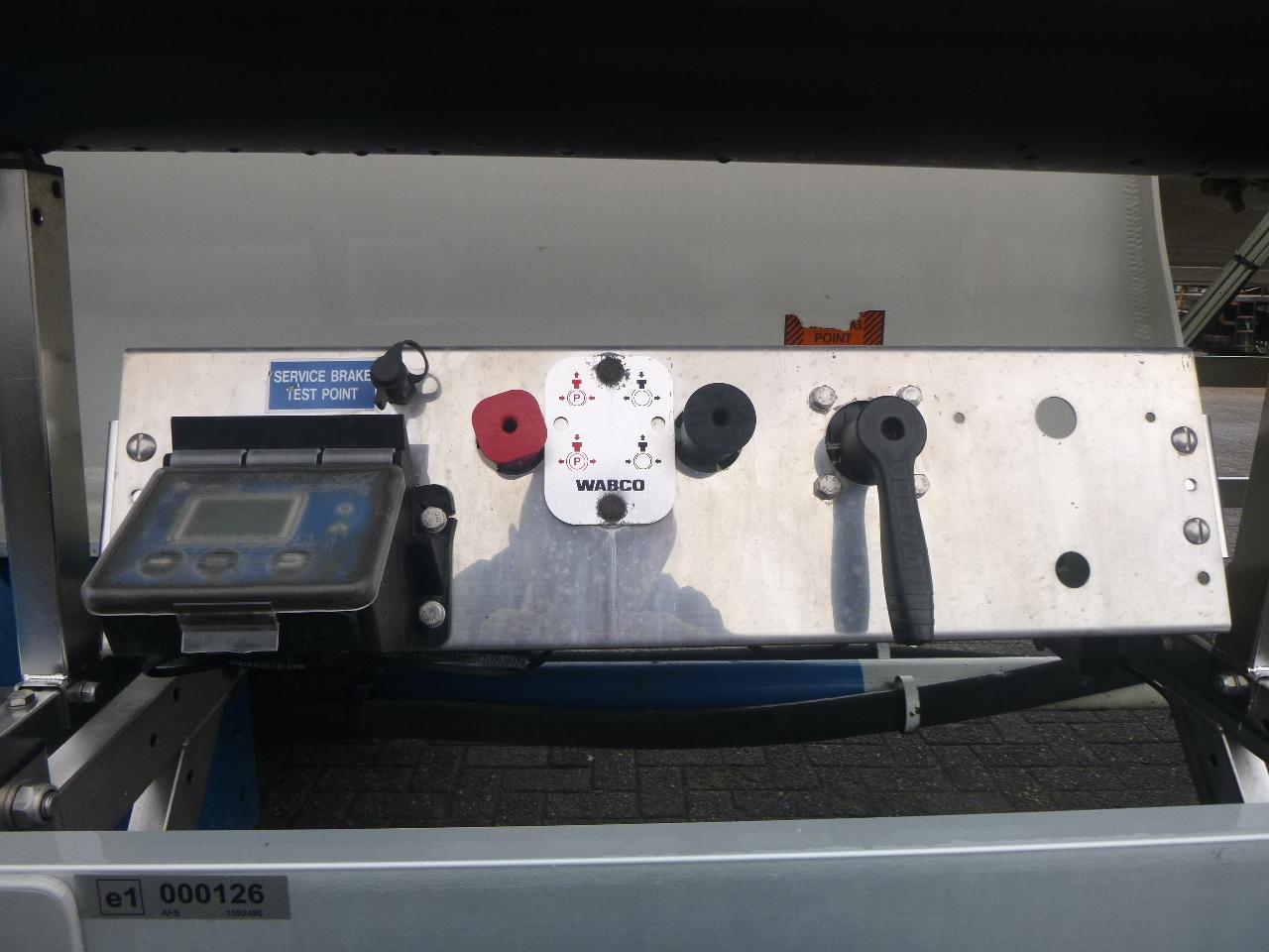 صهريج نصف مقطورة Feldbinder Powder tank alu 36 m3 / 1 comp: صور 13