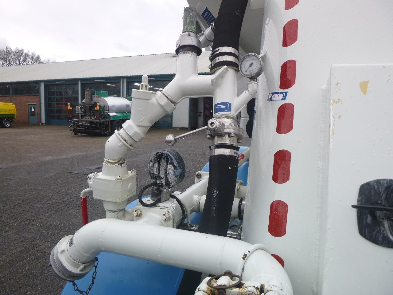 صهريج نصف مقطورة Feldbinder Powder tank alu 36 m3 / 1 comp: صور 7