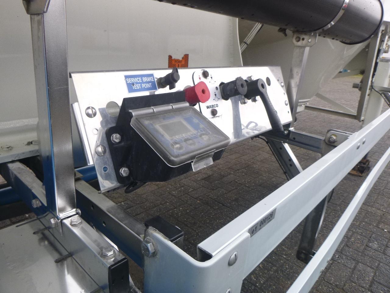 صهريج نصف مقطورة Feldbinder Powder tank alu 36 m3 / 1 comp: صور 12