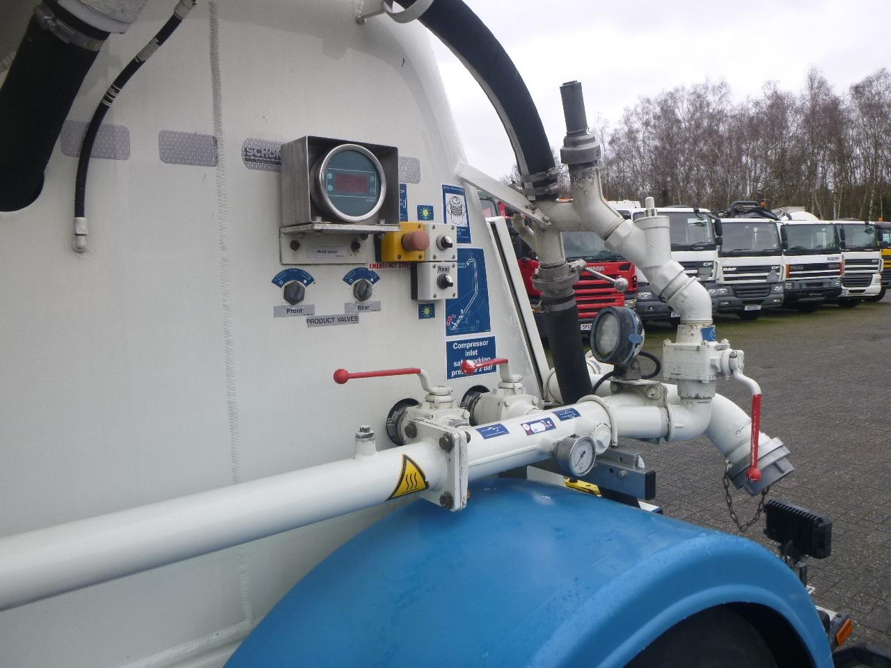 صهريج نصف مقطورة Feldbinder Powder tank alu 36 m3 / 1 comp: صور 6
