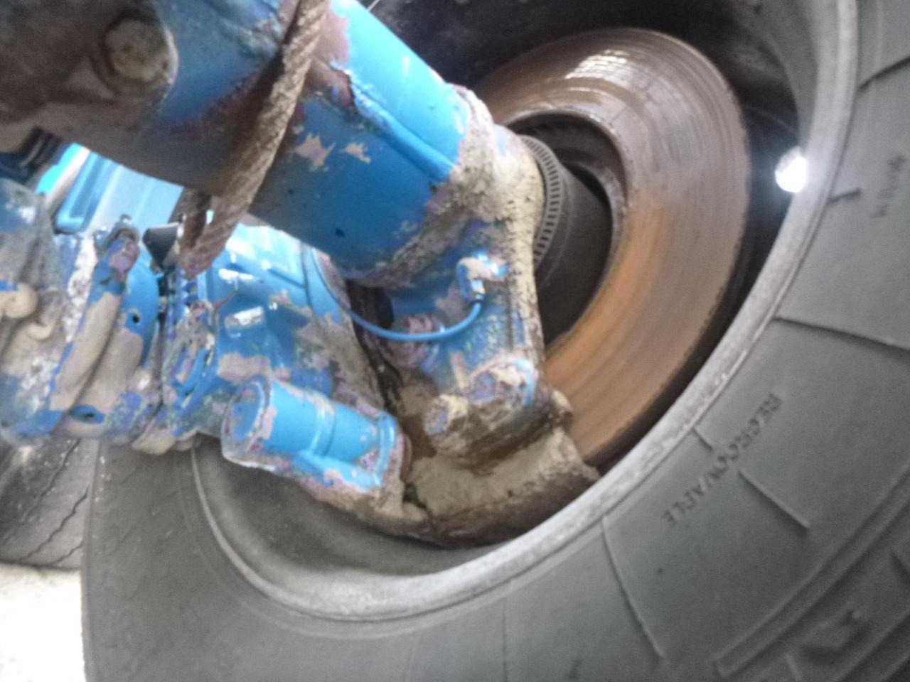 صهريج نصف مقطورة Feldbinder Powder tank alu 36 m3 / 1 comp: صور 20
