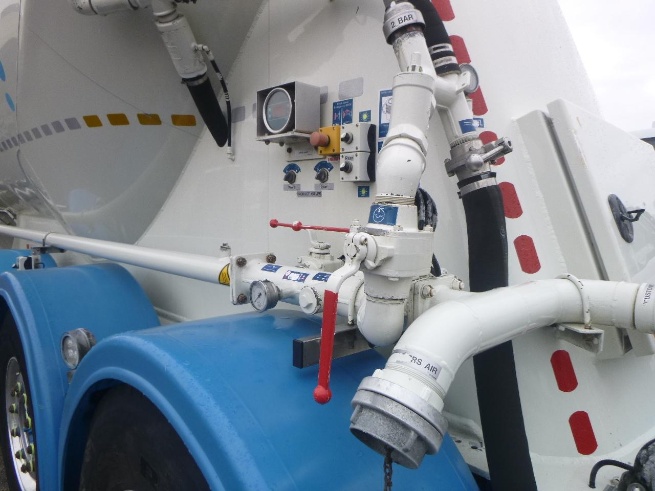 صهريج نصف مقطورة Feldbinder Powder tank alu 36 m3 / 1 comp: صور 5