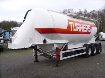 صهريج نصف مقطورة Feldbinder Powder tank alu 38 m3 / 1 comp