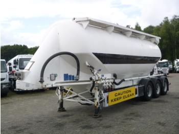 صهريج نصف مقطورة Feldbinder Powder tank alu 40 m3 / 1 comp