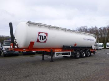 صهريج نصف مقطورة Feldbinder Powder tank alu 63 m3 / 1 comp