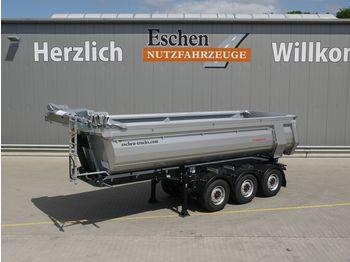 Schwarzmüller 25m³ Hardox, Luft/Lift, SAF, elektr. Funkverdeck  - félpótkocsi billenőplatós