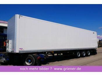 Schmitz Cargobull SKO 24/ DOPPELSTOCK / ZURRLEISTE FP 25 !!!!!!!!!  - félpótkocsi dobozos