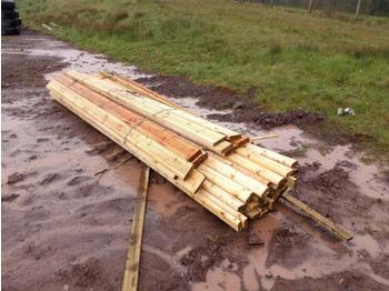 Bundle of Timber (2 of) - forestry equipment