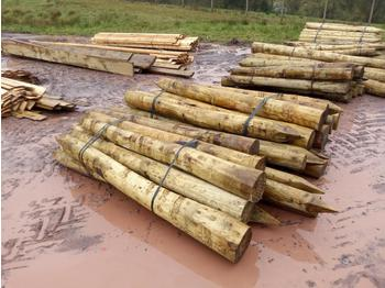 Bundle of Timber Strainers (2 of) - forestry equipment