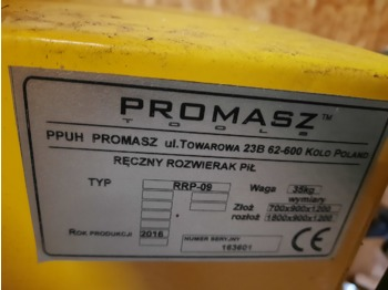 PROMASZ TOOLS RRP-09 - forestry equipment