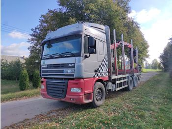 Timber transport DAF XF 105.510