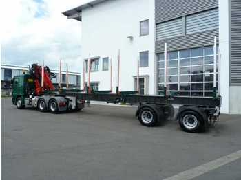 Leasing EBERT KHS32 Kurzholzsattel - Lastverschiebe Sys  - timber transport