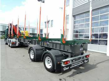 Leasing EBERT KHS32 Kurzholzsattel - gelenkt  - timber transport