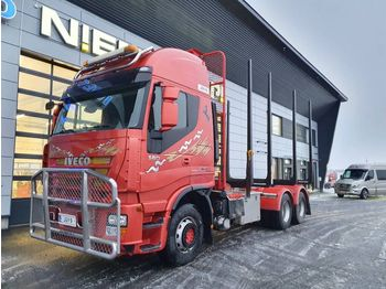 Timber transport IVECO AS 260 S56Z/P