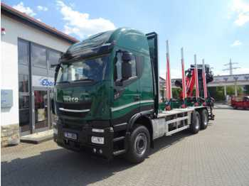 Leasing Iveco X-Way AS 260 X 51 Z/P HR ON+ / Cranab TZ12.2  - timber transport