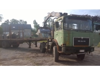 MAN 19.321 FAS - timber transport